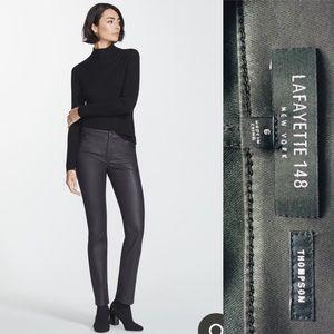 Lafayette 148 Thompson Italian Primo Denim Jeans 6